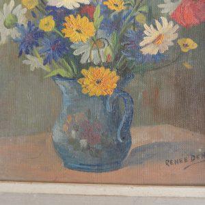 Peinture à l'huile sur isorel